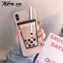 Stereoscopic Matte Candy Color Silicone TPU Cases for