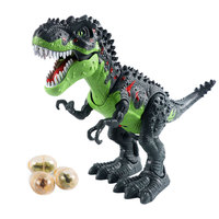 Machinery Spray Dinosaur Electric Light Spitfire Machinery War Dragon Model Science Dinosaur Model Toy Walk Light