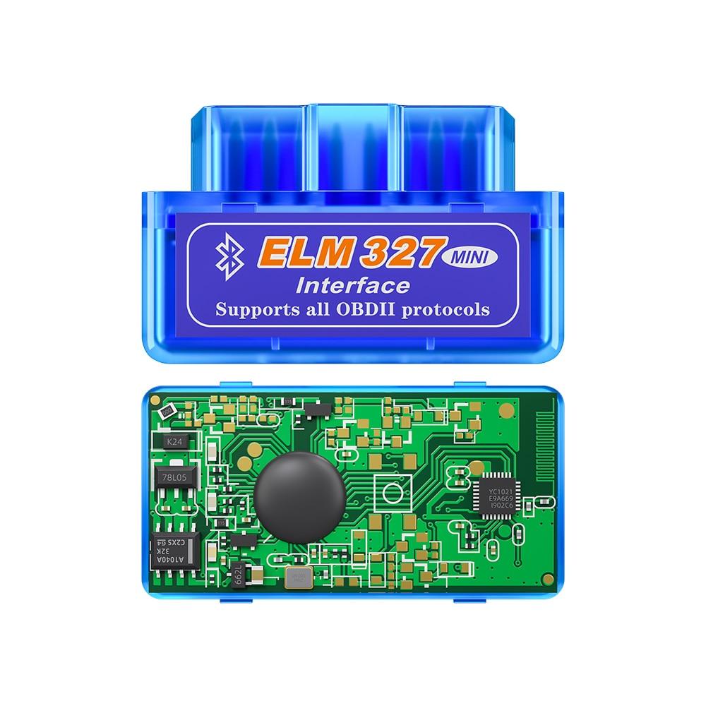 XTOOL 2019 Bluetooth V1.5/V2.1 Mini Elm327 obd2 scanner OBD car diagnostic tool code reader For Android Windows Symbian English 4