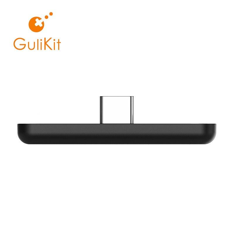Adaptateur Audio sans fil Bluetooth GuliKit NS07 Route Air ou transmetteur type-c pour la Nintendo Switch, Switch Lite, PS4, PC