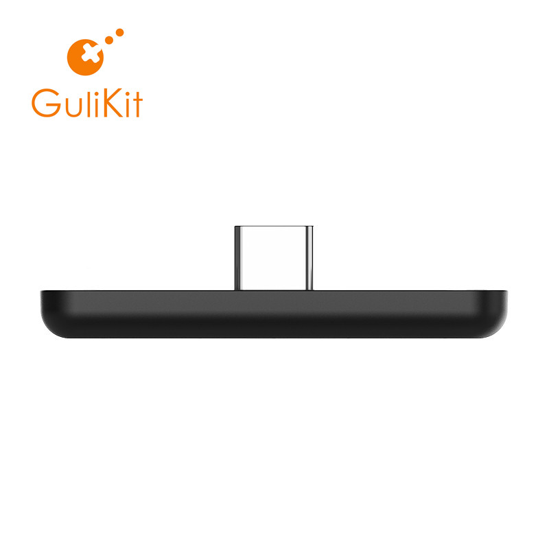 GuliKit NS07 adaptateur Audio sans fil Bluetooth Route Air ou transmetteur type-c pour la Nintendo Switch, Switch Lite, PS4, PC