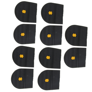 Image 1 - 5 Pairs Rubber Heels Glue On Shoe Sole Repair Pad Replacement for Mens and Womens Shoe Heel Protector 6mm Thick Shoe Accessories