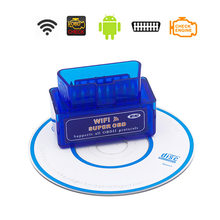 Wifi Super Mini ELM327 OBD2 Scanner For Mercedes Benz AMG A B C E S R G M ML SL CL Class V 1.5 OBD 2 II Car Diagnostic Tools(China)