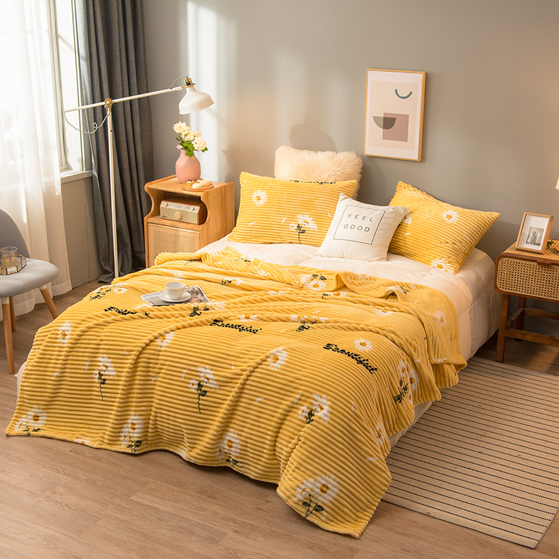 Blankets For Beds Solid Yellow Blue Grey Color Soft Warm Square Flannel Blanket Fleece Blankets And Throws Sofa Cover Bedspread 11