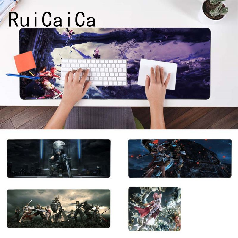 RuiCaiCa Personalized Cool Fashion <font><b>final</b></font> fantasy game Beautiful Anime <font><b>Mouse</b></font> Mat Rubber <font><b>Mouse</b></font> Durable Desktop Mousepad image