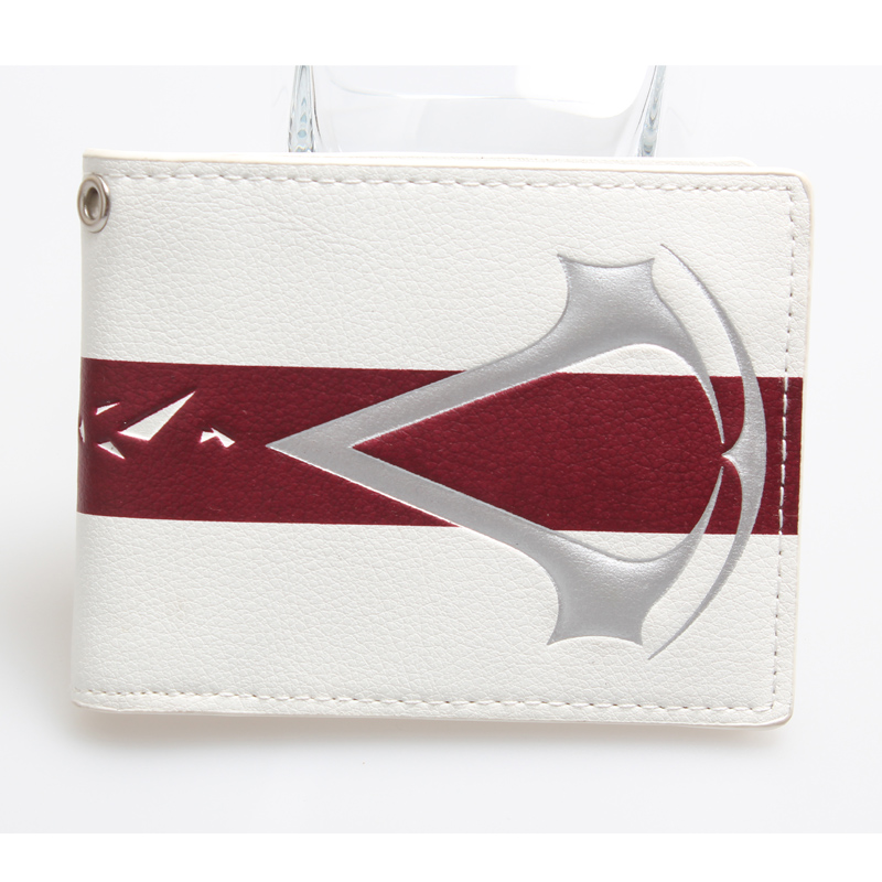 Juego Wallet Men White Wallet  High Quality Designer Short Purse