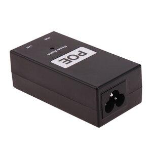 Image 5 - 48 فولت 0.5A 24 واط سطح المكتب POE حاقن الطاقة إيثرنت محول القياسية PD ميناء امدادات الطاقة لمراقبة CCTV دروبشيبينغ