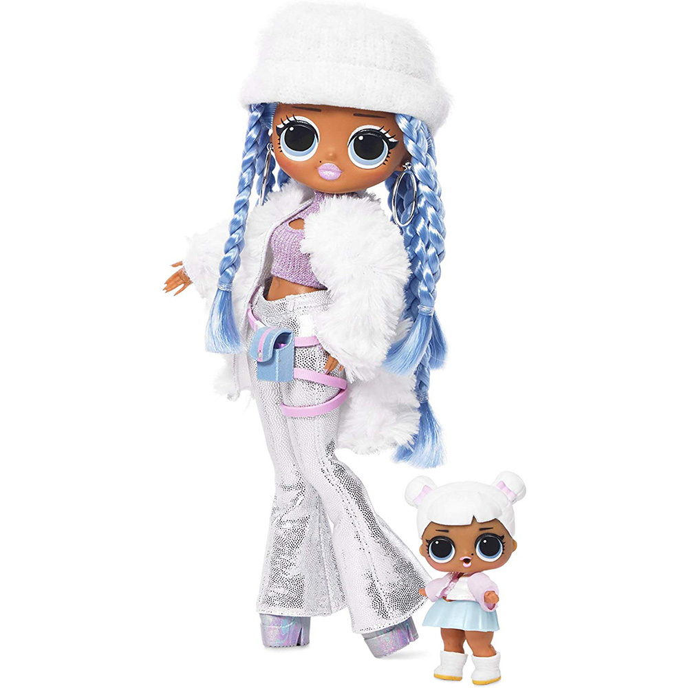 L.O.L Surprise! O.M.G. Winter Disco Snowlicious Fashion Doll & Sister LOL For Kids Toy