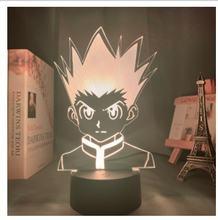 Акриловый 3d лампа с героями из мультфильма «Мой герой dabi