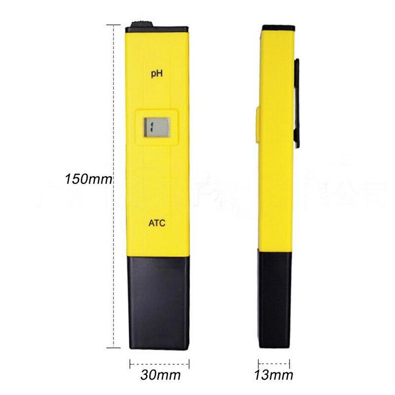 Цифровой рН метр ручка от тестера для аквариума бассейна воды вина мочи автоматическая калибровка ручка измеритель кислотности Лидер продаж Измерители pH    АлиЭкспресс