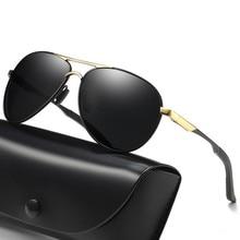 Men Polarized Sunglasses Aviation Rays Brand Designer Pilot