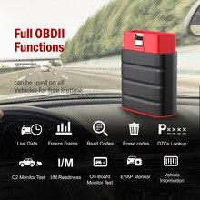 LAUNCH Thinkdriver Obd2 сканер Bluetooth профессиональная полная система 15 функций сброса Obd 2 Автомобильный сканер PK AP200