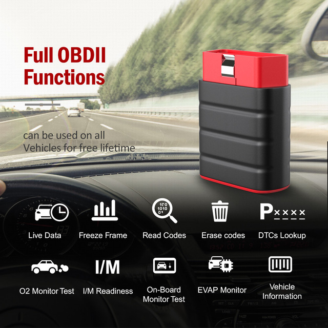 Launch Thinkdriver Obd2 Scanner Bluetooth Professionele Volledige Systeem 15 Reset Functies Obd 2 Automotive Scanner Pk AP200