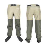 Fliegen Angeln Waders Outdoor Camping Taille Hosen Wasserdichte 15000 Atmungsaktive 3000 Brust Jagd Waten Hosen Kleidung Für Schuh