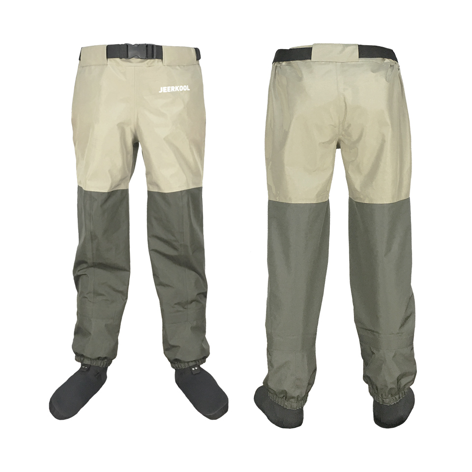 Fly Fishing Waders Outdoor Camping Waist Pants Waterproof 15000 Breathable 3000 Chest Hunting Wading Pants Clothes For Shoe