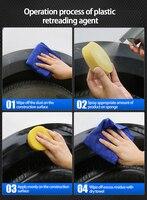 Upholstery Cleaner Automotive Interior Plastic Parts Retreading Agent Plastic Parts Wax Instrument Panel Retreading Agent 4