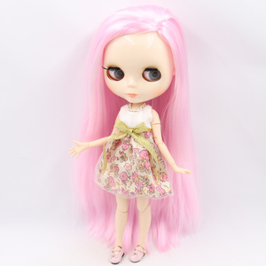 Image 2 - ICY DBS Blyth doll No.2 glossy face white skin joint body 1/6 BJD special price ob24 toy gift