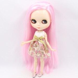 Image 2 - ICY DBS Muñeca Blyth No.2, cara brillante, cuerpo articulado de piel blanca, 1/6 BJD, precio especial, ob24, juguete para regalo