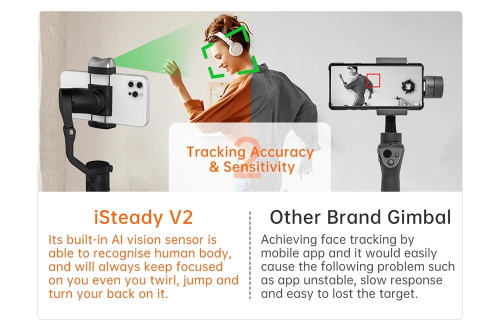 Hohem iSteady V2 AI Smartphone Gimbal 6