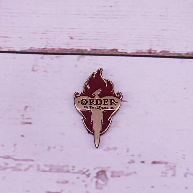 Order of the Phoenix Symbol Pin Badge  wizarding world brooch