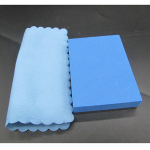 Image 4 - 20Pcs/Set Microfiber Cleaning Cloths 10x10cm Nano Ceramic Car Coating Kits Car Glass Coating Lint Free Cloth