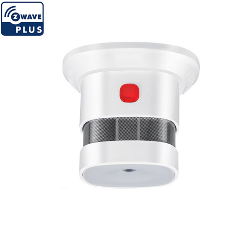 Z Wave Smoke Sensor  Smart Detector Home EU Version 868.42MHZ Zwave Fire Alarm Sensor For Security Smart House