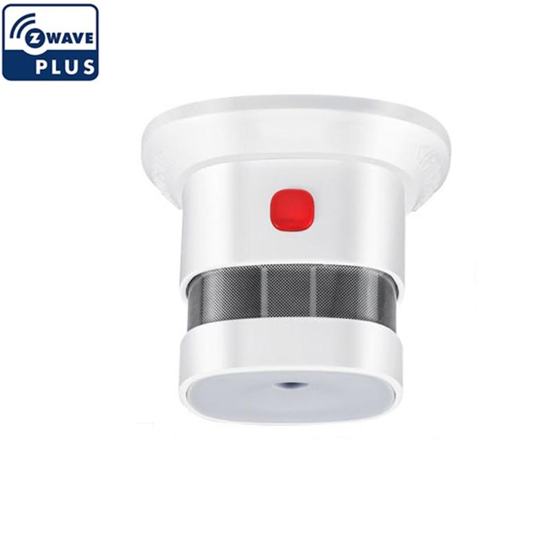 Z Wave Smoke Sensor  Smart Detector Home EU Version 868.42MHZ Zwave Fire Alarm Sensor For Security Smart House