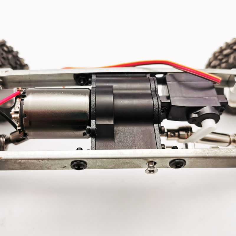 Fast Slow All-metal Two-Speed <font><b>Gearbox</b></font> DIY Upgrade Parts for <font><b>RC</b></font> WPL MN 4WD 6WD Climbing Off-road <font><b>RC</b></font> Car Accessories 634F image
