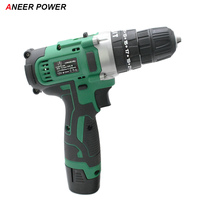 12V Impact Drill Electric Screwdriver Electric Hand Drill Battery Cordless Hammer Drill Home Diy Power Tools