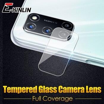 Перейти на Алиэкспресс и купить Прозрачная защитная пленка для задней камеры из закаленного стекла для OPPO A12 A12e A52 A72 A91 A92 A92s