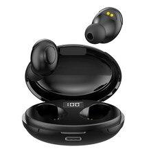 Zestaw słuchawkowy Bluetooth TWS obuuszna redukcja szumów dotykowych bezprzewodowy magazyn ładowania zestaw słuchawkowy dla aktywnych źródeł T5