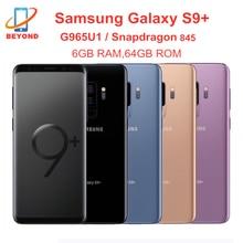 Samsung galaxy s9 + s9 mais g965u g965u1 6gb ram 64gb rom núcleo octa 6.2
