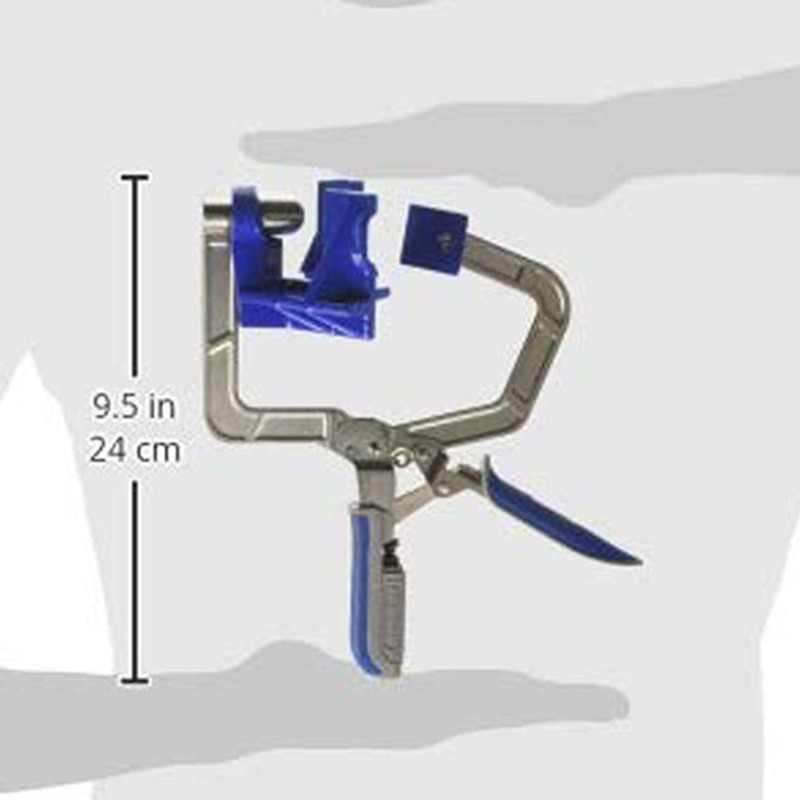 Vises Corner Clamp For Kreg Jigs Stainless steel Drawers Cabinets Boxes Tools Workshop Equipment
