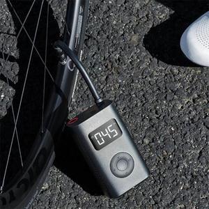 Image 3 - Xiaomi Mijia şişme hazine dijital izleme kompresörü lastik taşınabilir dahili pil çok nozul akıllı ev bisiklet