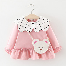 Baby Dress 2019 Spring Autumn Baby Long Sleeve Princess Dres