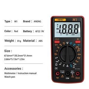 Image 5 - M1 マルチメータポータブル液晶デジタルマルチメータバックライト ac/dc 電流計電圧計オームテスターマルチメータテスター