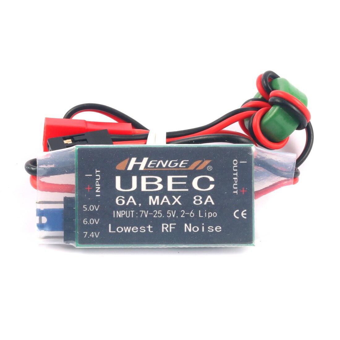 Стабилизатор напряжения Henge 5V/6V/7.4V 6A UBEC 2-6S