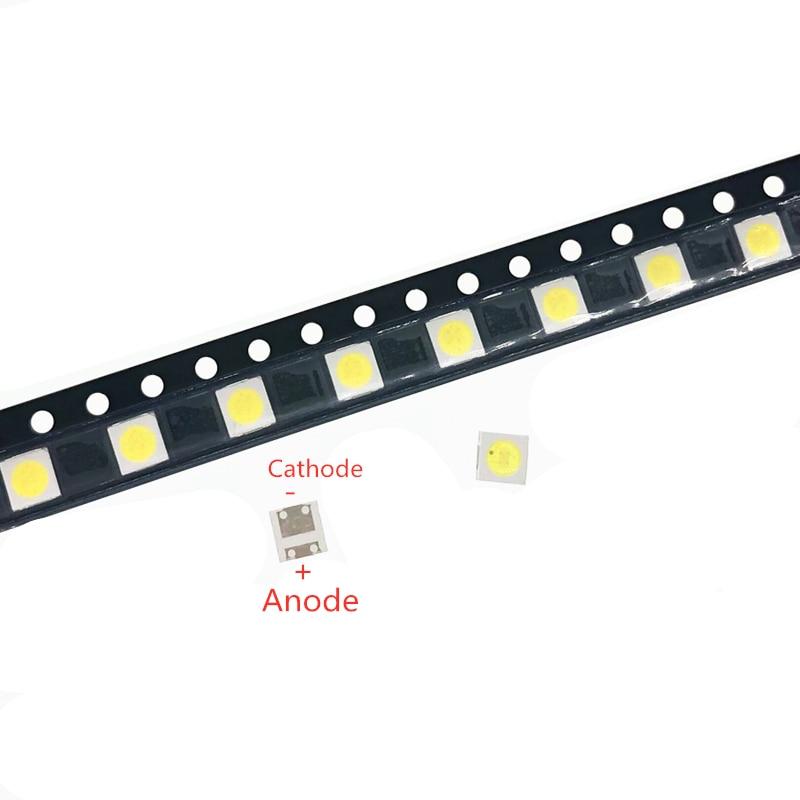 50PCS FOR LCD LED TV repair TV backlight strip lights with light-emitting diode 3535 SMD LED beads 6V