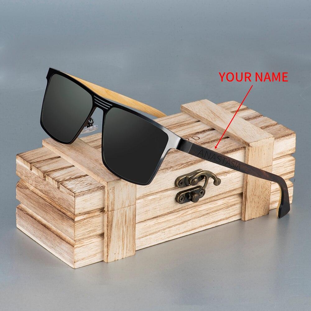 BOBO BIRD Sunglasses women men Wood Bamboo Polarized UV Protection Custmoize engrave Eyewear Sun Glasses in Wood Gift Box