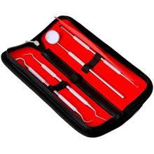 Набор из 4 предметов набор инструментов для стоматолога нержавеющей
