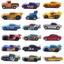 Voitures Disney Pixar 3 Lightning McQueen Jackson, 39 Styles, modèle en alliage moulé, jouet en métal, cadeau d'anniversaire, 1:55