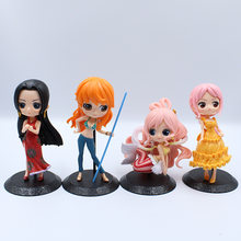 Prinses Figurine Toy Doll Piraat Stelen Koning Nautische Koning Nami Mermaid Rebecca Perona Luffy Rood Haar Ace Gift Collection Mod(China)