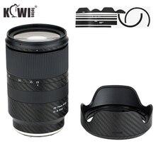 Anti Kras Lens En Lens Hood Cover Carbon Fiber Beschermende Huid Film Voor Tamron 28 75Mm F/2.8 Di Iii Rxd A036 Lens Anti Slide