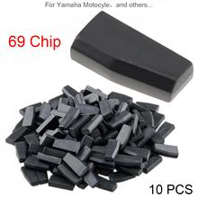 10pcs Blank 4D69 ID69 40Bits Carbon Chip Car Key Transponder Fit for Yamaha Motocyle New