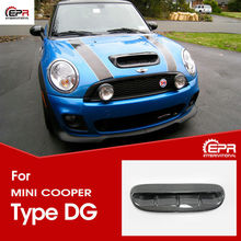 For MINI COOPER S R53 2006 Type DG Carbon Fiber Hood Scoop Trim Hoods Vent Air ducts Body kit