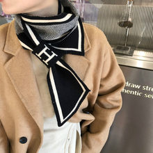 Knitted scarves 2020 design striped scarves for women winter scarves warm long thin scarves for women scarves and shawls
