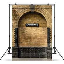 Виниловый фон для студийной фотосъемки с кирпичной стеной 9