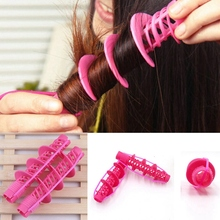 2Pcs Hair Styling Tools Care Natural Big Wave Curls Rollers Curlers Curling Tool