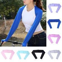Chauffe-bras à manches longues, Protection solaire contre les UV, housse de sport, une pièce, pour mains, Cool, course à pied, cyclisme, Hijab