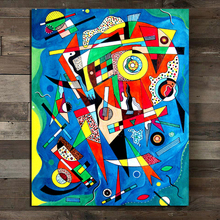 Wassily Kandinsky Abstract Wall Art Canvas Painting Posters Prints Modern Painting Wall Picture For Living Room Home Decoration